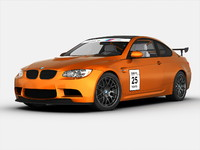 3d interior bmw car model