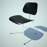 3d eames chair plywood