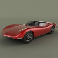 chevrolet corvair monza ss 3d max