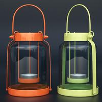 3dsmax john lewis candle lantern