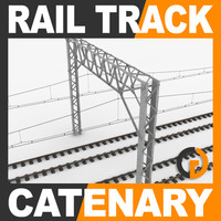 Railway Track and Catenary