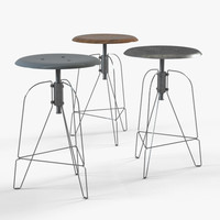 Swivel Stool Metal