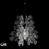 light anastacha suspension lamp 3d model