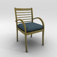 wooden chair 3d ma