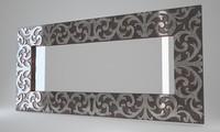 3d max devon mirror maine silver