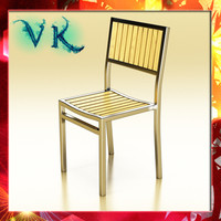 outdoor chair 3ds