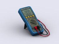 3d model multimeter games