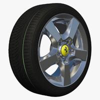 wheel rim sport 3d model