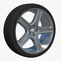 wheel five spoke rim