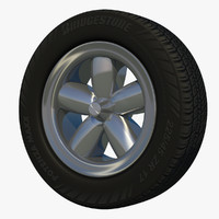 wheel sport fun rim 3d model