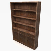 Wood Simplier Cupboard