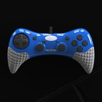 gamepad controller 3d model
