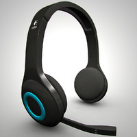 3d logitech wireless headset