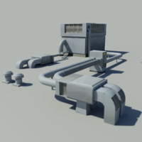 3ds max roof unit