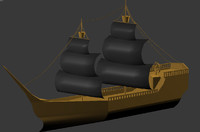 sail 3d max