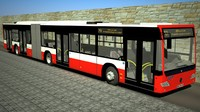 mercedes city bus conecto 3d max