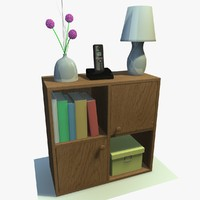 cabinet decor 3d 3ds