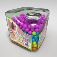 Cubic Candy Bottle