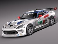 Dodge Viper GTS-R 2013 Race car