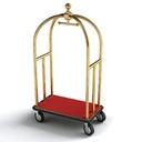 hotel cart 3D models