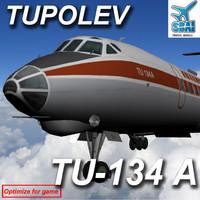 3dsmax tu-134a 134
