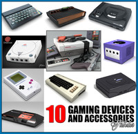 gaming devices 3d max