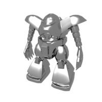 gogg robot 3d model
