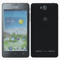 huawei ascend g600 3d model