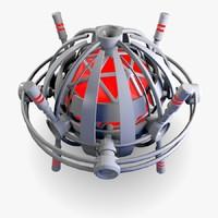 Round UFO / Drone