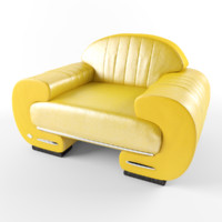 3ds max les mans chair