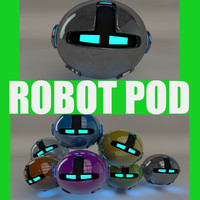 3d model robotic pod