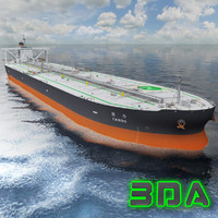Oil tanker ship 300000DWT NYK Line