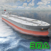 Oil tanker ship 300000DWT K Line