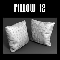 pillow interior 3d model