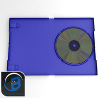Blue DVD/Ps2 case