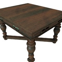 table living antique 01 model