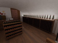 wine racks 01 furniture max