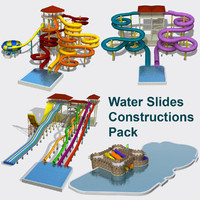 Water Slides Set Full