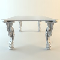 3dsmax table desk