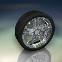 fbx car tyre