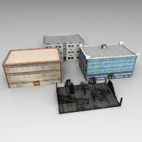 3d model ready buildings