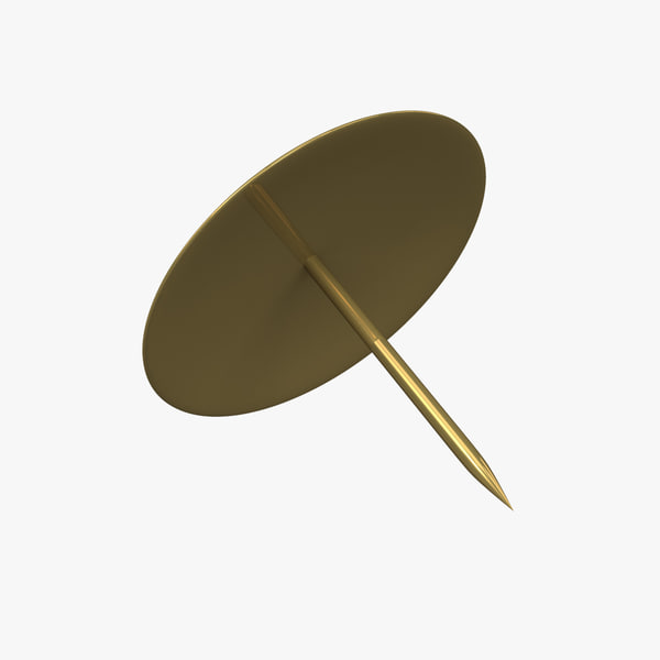 obj thumbtack thumb tack - Thumbtack... by IllumeStudio