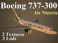 3d boeing 737-300 vgn