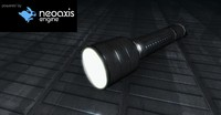 3d flashlight light flash