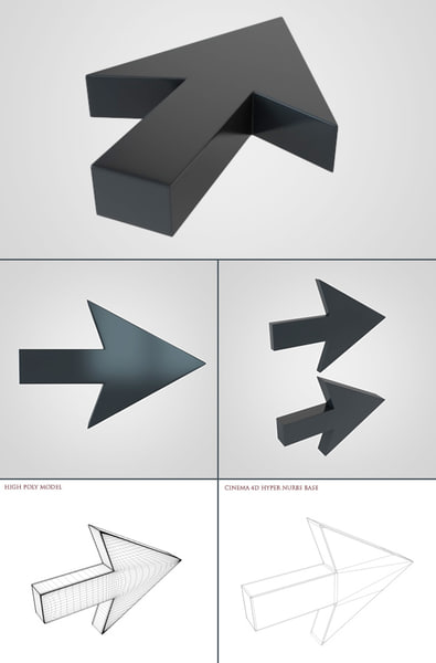 3d model arrow 1 - Arrow 1... by tdubic