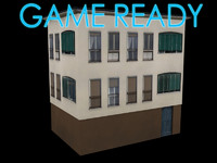 3d building polys model