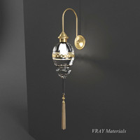 3d model lamp middle east style