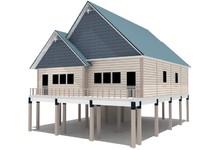 3d model architectural designed
