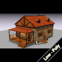 country cottage house 3ds free
