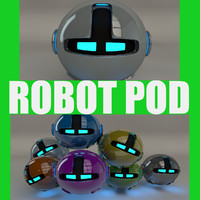 robotic pod 3d model